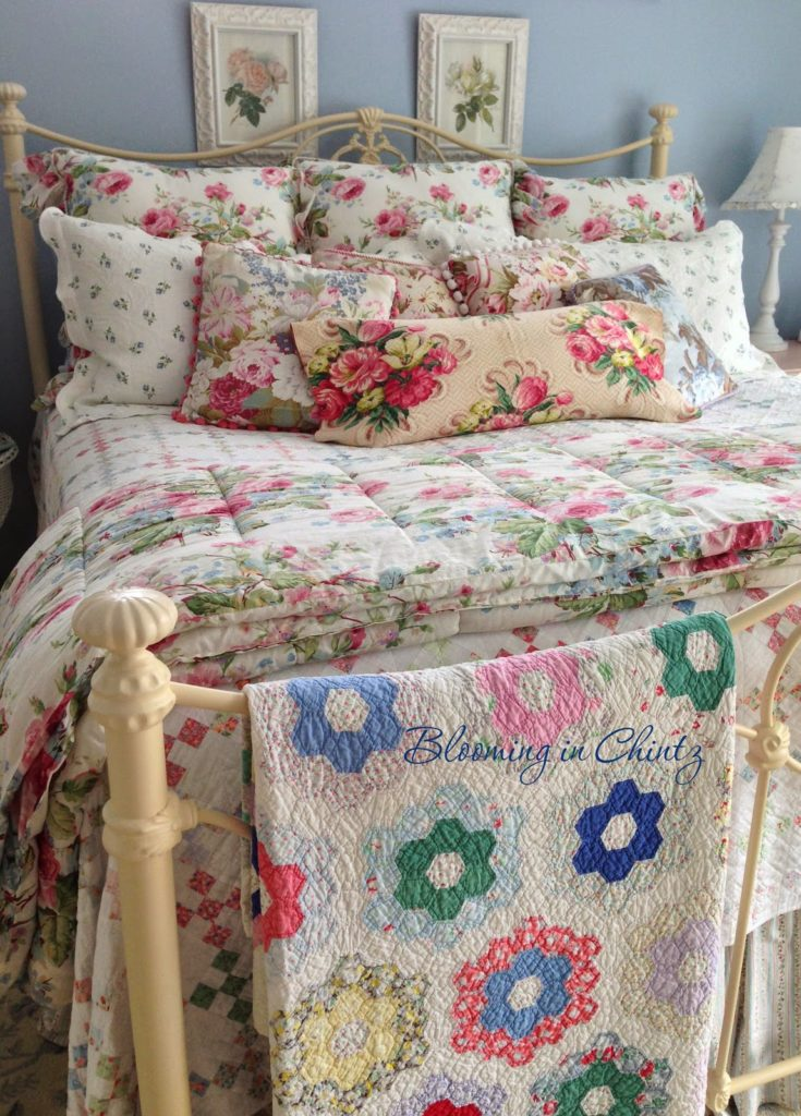 Chintz Decorating Repurposed - Vintage Style Trends | The Thrifty Decorator