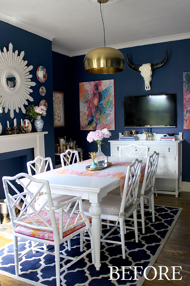 Chinese Chippendale Chair Makeover - Vintage Style Trends | The Thrifty Decorator